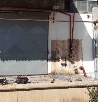 Система пожаротушения на заводе ИНОМАК