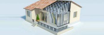 Κατασκευή οικίας με μεταλλικό σκελετό